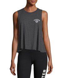 Spiritual Gangster Wild And Free Script Athletic Tank Top Black