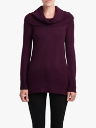 French Connection Cowl Neck Jumper Evening Wine
