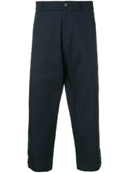 Societe Anonyme 60 Ripped Pants Blue