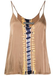 Raquel Allegra Little Cami Top Neutrals