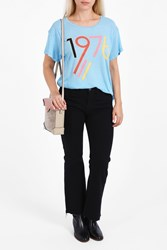 Wildfox Couture Women S 1976 T Shirt Boutique1 Blue