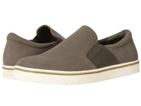 Vionic Maddox Olive Green Canvas Men's Slip On Shoes