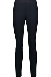 Theory Navalane Stretch Crepe Skinny Pants Midnight Blue