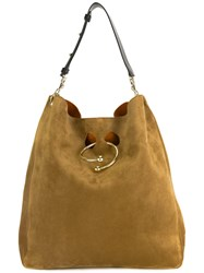J.W.Anderson Slouchy Hobo Bag Brown