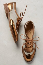Miss Albright Curricula Cutout Oxfords Bronze