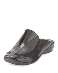 Sesto Meucci Horlina Casual Calf Hair Leather Mule Black