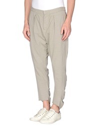 Lost And Found Lost And Found Casual Pants Light Grey