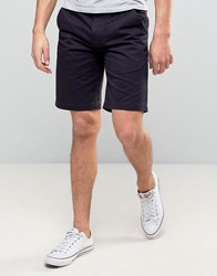 Barbour City Newston Chino Shorts Twill In Navy Navy