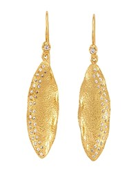 Melinda Maria Clea Mademoiselle Drop Earrings Gold