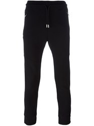 Diesel Drawstring Waistband Sweatpants Black