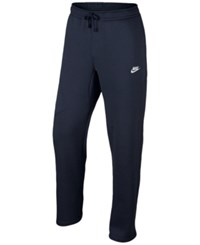 Nike Men's Cargo Pocket Fleece Pants Obsidian