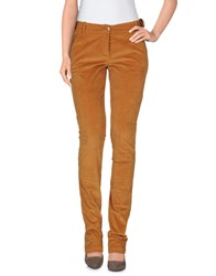 Siviglia Denim Trousers Casual Trousers Women Camel