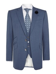 Chester Barrie Albemarle Wedding Suit Blue
