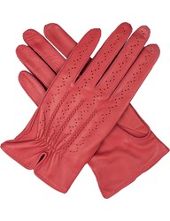 Dents Madison Hairsheep Leather Gloves Coral