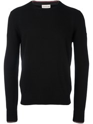 Moncler Classic Crew Neck Sweater Black