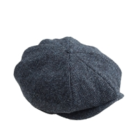 J.Crew Newsboy Cap In Harris Tweed Wool