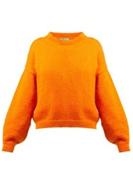 M.I.H Jeans Jackson Mohair Blend Sweater Orange