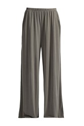 Great Plains So Peachy Wide Leg Jersey Trousers Green