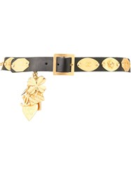 Chanel Vintage Buckle Belt Black