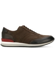 Moreschi Sparta Sneakers Leather Rubber Brown