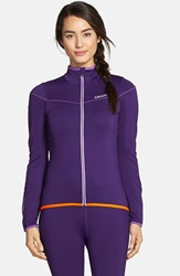 Craft 'Move' Thermal Jersey Top Purple