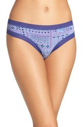 Honeydew Intimates Women's Riley Tanga Deep Sea Tribal