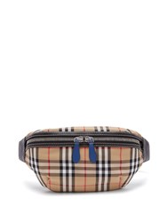 Burberry Vintage Check Crossbody Belt Bag Multi