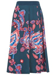 Damsel In A Dress Line Anika Skirt Navy Multi