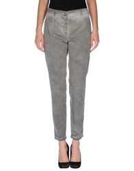 Roberta Scarpa Casual Pants Grey