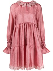 Stine Goya Ruched Ruffled Mini Dress 60