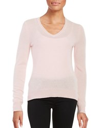 Lord And Taylor Basic V Neck Cashmere Sweater Sweet Kiss