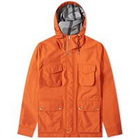 Ami Alexandre Mattiussi Patch Pocket Bonded Parka Orange