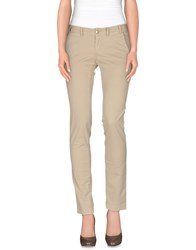 Betwoin Trousers Casual Trousers Women Beige