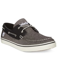 Timberland Earthkeepers Newmarket Boat Shoes Men's Shoes Grey Chambray