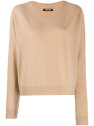 Max And Moi Round Neck Jumper Neutrals