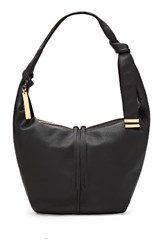 Vince Camuto Imena Leather Hobo Black