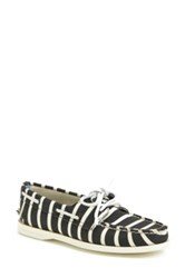 Sperry X Band Of Outsiders 'Authentic Original' Canvas Boat Shoe Women Black