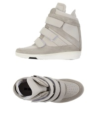 Dirk Bikkembergs High Tops And Trainers Light Grey