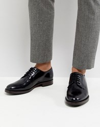 Ted Baker Silice Leather Derby Shoes Black