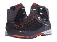 Salewa Mountain Trainer Mid Gtx Black Indio Men's Shoes
