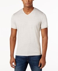 Alfani Ethan Performance T Shirt Only At Macy's Raw Pebble