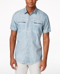 Inc International Concepts Men's Cowabunga Short Sleeve Shirt Only At Macy's Lightning