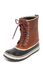 Sorel 1964 Premium Leather Boots Cappuccino