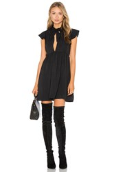 Motel Clover Dress Black