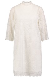 Object Objlacey Cocktail Dress Party Dress Gardenia Off White