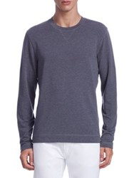 Saks Fifth Avenue Collection Relaxed Fit Tee Dark Grey