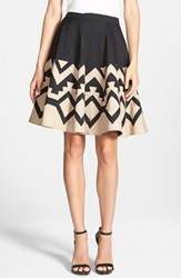 Women's Plenty By Tracy Reese 'Full Circle' Applique Skirt