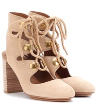 See By Chloe Edna Suede Sandals Beige