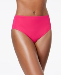 Coco Reef High Waist Allover Slimming Bottoms Women's Swimsuit Rosewood