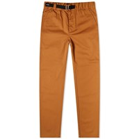 Kenzo Straight Leg Belted Pant Brown